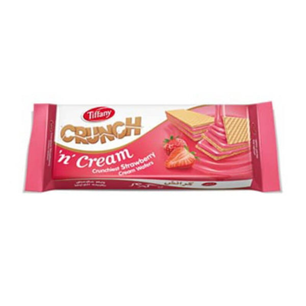 Tiffany Crunch N Cream Strawberry Flavoured 150 Gm