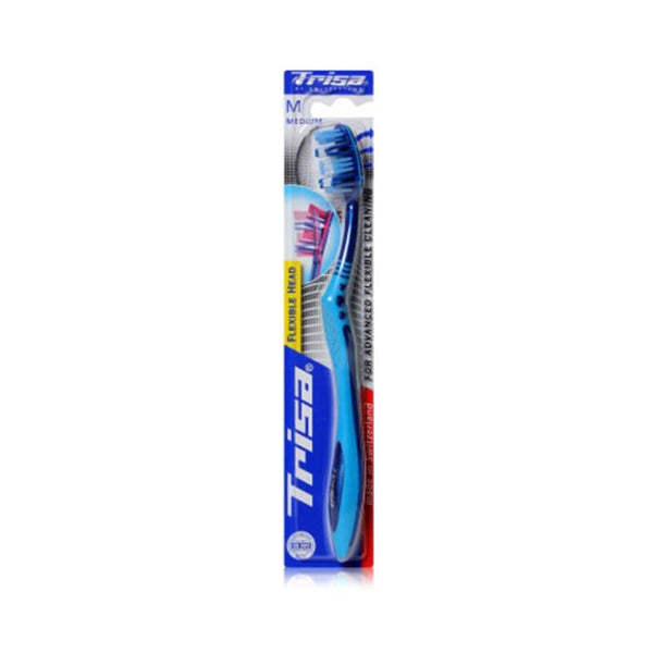 Trisa Flexible Head Medium Toothbrush