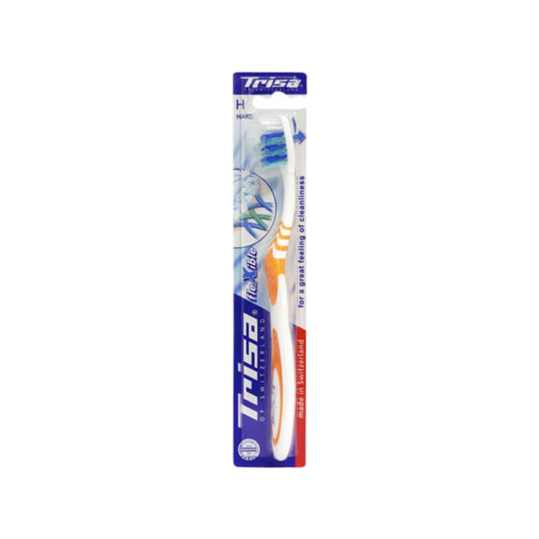 Trisa Flexible Head Hard Toothbrush