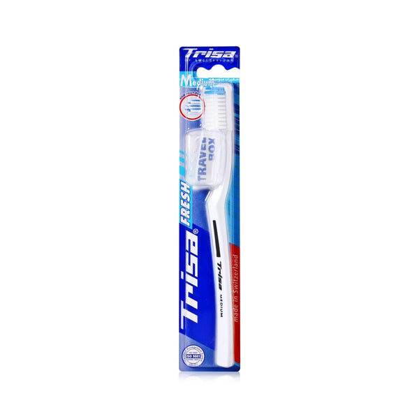 Trisa Profilac White Medium Toothbrush 1 Pcs