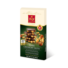 Frey Dark Crunchy Nuts Chocolate