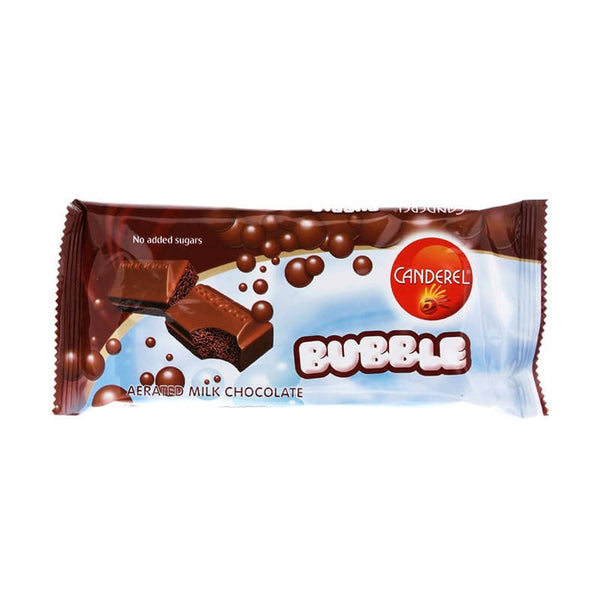 Canderel Bubble Aerated Milk Chocolate 74 Gm