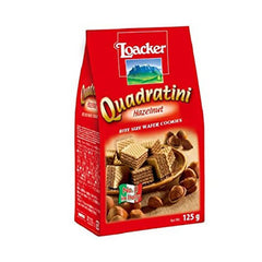 Loacker Quadratini Napolitaner Wafer Cookies 110 Gm
