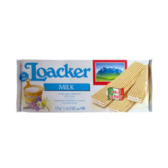 Loacker Quadratini Tiramisu Wafer Cookies 110 Gm