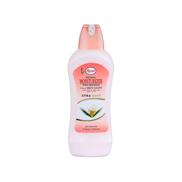 Ayur Herbal Moisturizer Wheat Germ Based Natural Skin Glow Lotion - BazaarCart Best Online Grocery Store