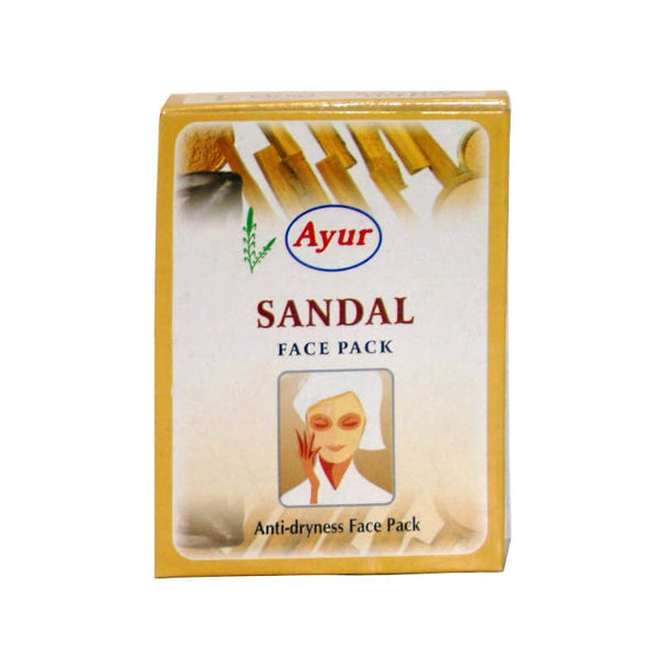 Ayur Herbal Sandal Face Pack - BazaarCart Best Online Grocery Store