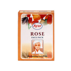Ayur Herbal Rose Face Pack - BazaarCart Best Online Grocery Store