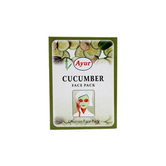 Ayur Herbal Cucumber Face Pack - BazaarCart Best Online Grocery Store