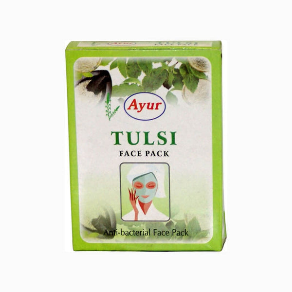 Ayur Herbal Tulsi Face Pack - BazaarCart Best Online Grocery Store