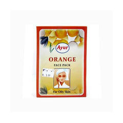 Ayur Herbal Orange Face Pack - BazaarCart Best Online Grocery Store