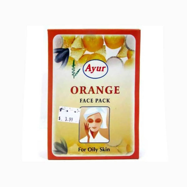 Ayur Herbal Orange Face Pack  For Oily Skin