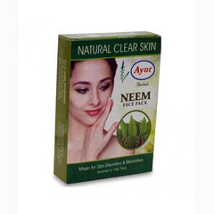Ayur Herbal Neem Face Pack - BazaarCart Best Online Grocery Store