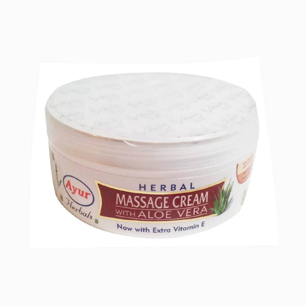 Ayur Herbal Massage Cream With Aloe Vera Cream