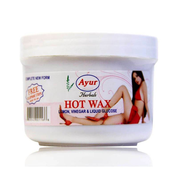 Ayur Herbal Hot Wax Lemon, Vinegar & Liquid Glucose