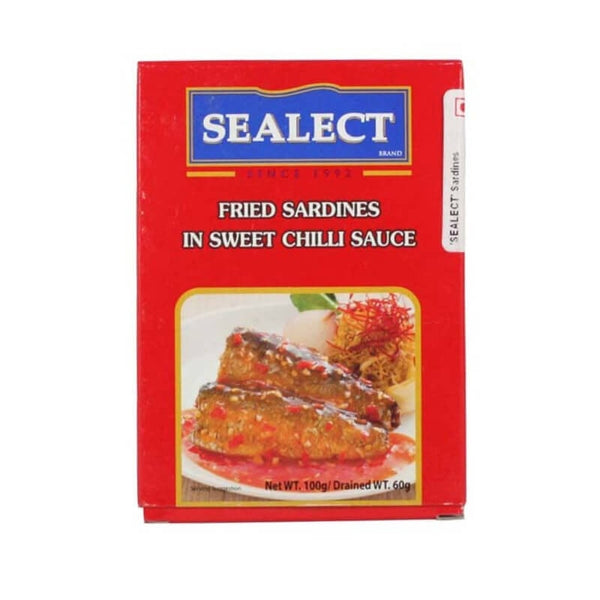 Sealect Fried Sardines In Sweet Chilli Sauce 100 Gm
