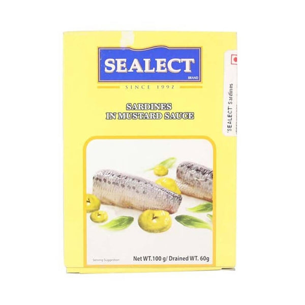 Sealect Sardines In Mustard Sauce 100 Gm