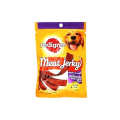 Pedigree Dog Treats Meat Jerky Roasted Lamb Flavour Pouch