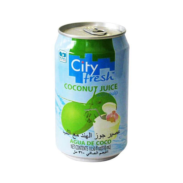 City Fresh Coconut Juice With Pulp 310 Ml