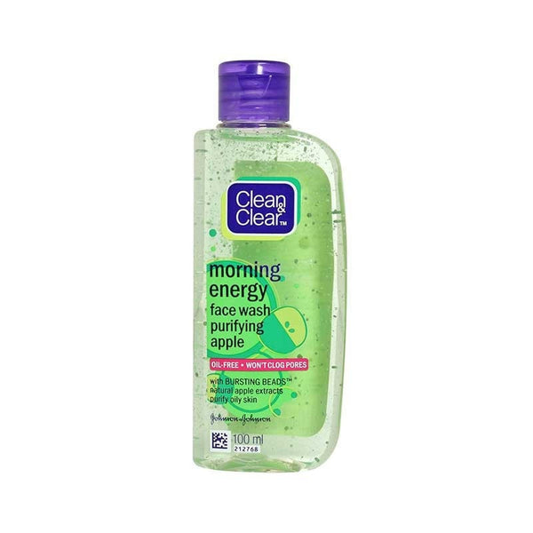 Clean & Clear Morning Energy Purifying Apple Face Wash