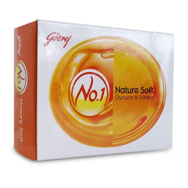 Godrej No.1 Nature Soft Glycerin & honey Soap