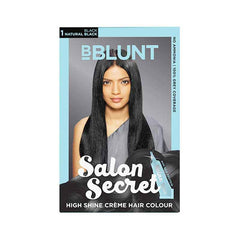 Bblunt Salon Secret High Shine Creme Hair - Natural Black 1 Colour