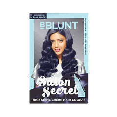 Bblunt Salon Secret High Shine Creme Hair - Blue Black 2.10 Blueberry Colour