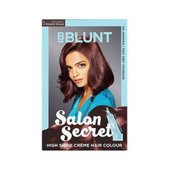 Bblunt Salon Secret High Shine Creme Hair - 4.56 Mahogany Reddish Brown Colour