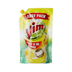 Vim Dishwash Lemon Gel Pouch