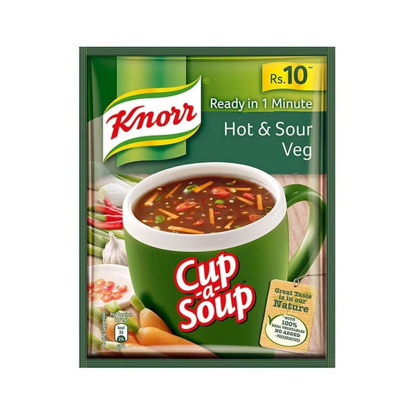 Knorr Ready in 1 Minute Hot & Sour Veg Cup a Soup