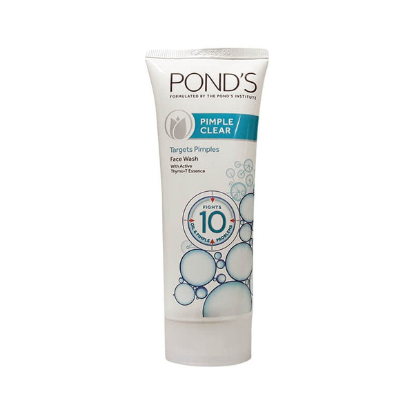Ponds Pimple Clear Targets Pimples Face Wash with Actice Thymo-T Essence