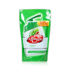 Lifebuoy Nature With Green Tea pouch 185 Ml
