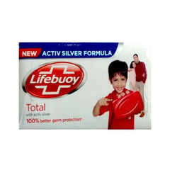 Lifebuoy Care with Activ Silver Soap with 6g extra