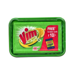 Vim Dishwash Bar Free Scrubber Rs.10