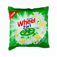 Wheel Active 2 In 1 Lemon & Jasmine Detergent Powder