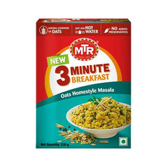 Mtr 3 Minute Breakfast Oats Homestyle Masala Box