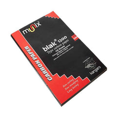 Kangaro MUNIX BLACK 1200 Pencil Carbon Paper 210 mm X330mm