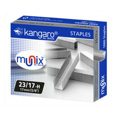 "Kangaro munix staples 17 mm (5/8"")"