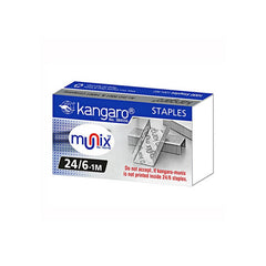 Kangaro Staples Munix No.24/6-1M