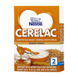 Nestle Cerelac Fortified Baby Cereal With Milk Wheat Honey 2 Stage 300 Gm