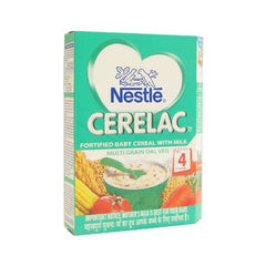 Nestle Cerelac Fortified Baby Cereal With Milk Multigrain Dal Veg Stage 4