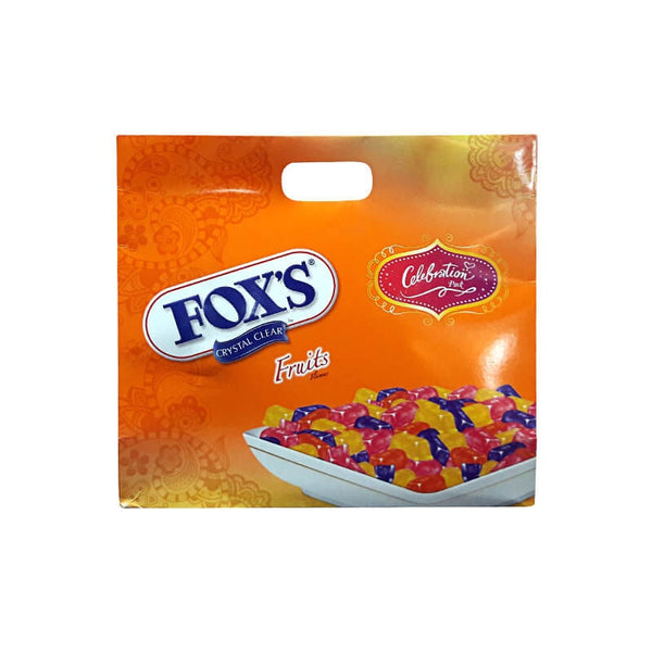Nestle Fox Crystal Clear Fruits Flavored Candy Gift Pack (4 X 90 Gm)