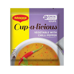 Maggi Cup-a-Licious 1 Min Instant Soup Vegetable with chilli Pepper