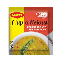 Maggi Cup-a-Licious 1 Min Instant Soup Dal Shorba with Roasted Garlic