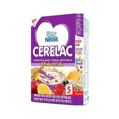 Nestle Cerelac Fortified Baby Cereal With Milk 5 Grains & Fruits Stage 5