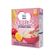 Nestle Cerelac Fortified Baby Cereal With Milk Multigrain & Fruits Stage 4 300 Gm