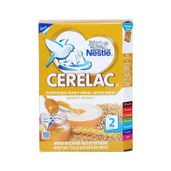 Nestle Cerelac Wheat Honey Stage 2 -8 Months+