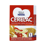 Nestle Cerelac Fortified Baby Meal With Milk Wheat Apple 1 Stage