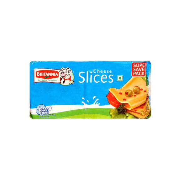 Britannia Cheese Slices 24 slices 480 Gm