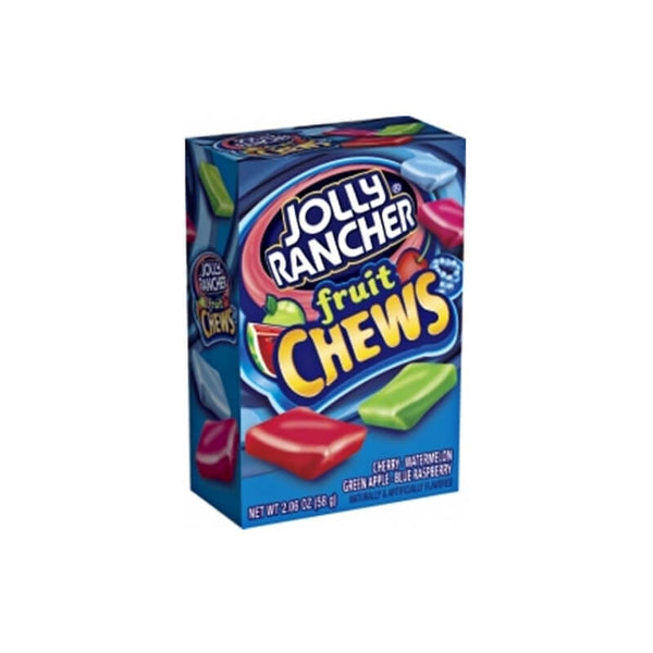 Jolly Rancher Fruity Chews Mango,Watermelon,Green Apple,Strawberry Flavored