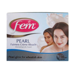 Fem Fairness naturals pearl creme bleach 64 Gm